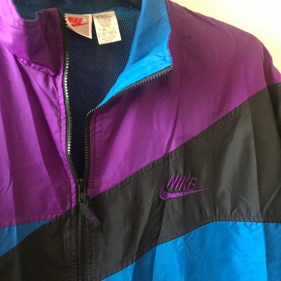 88f842feaa3e Nike TRI Color Vintage Windbreaker. M 5b9021d7f41452b4a382d25f